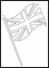 208x287 Free Digital Stamps Objects British Flag Copic Markers Stuff