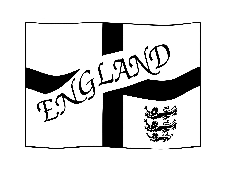 2717x2112 England Flag