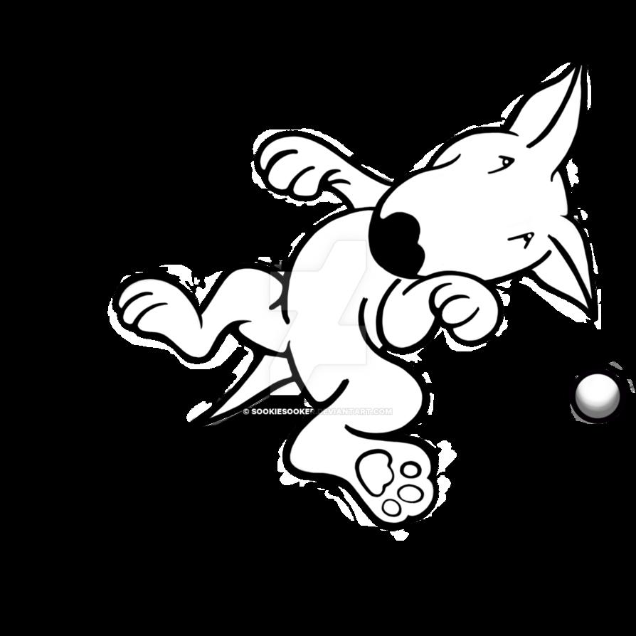 894x894 Flying English Bull Terrier By Sookiesooker
