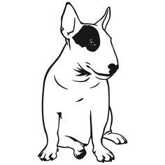 236x236 Bull Terrier Logo