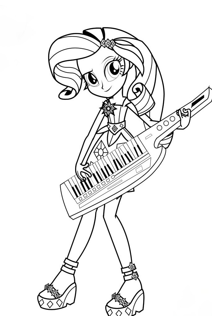 683x1016 My Little Pony Equestria Girls Coloring Pages My Little Pony