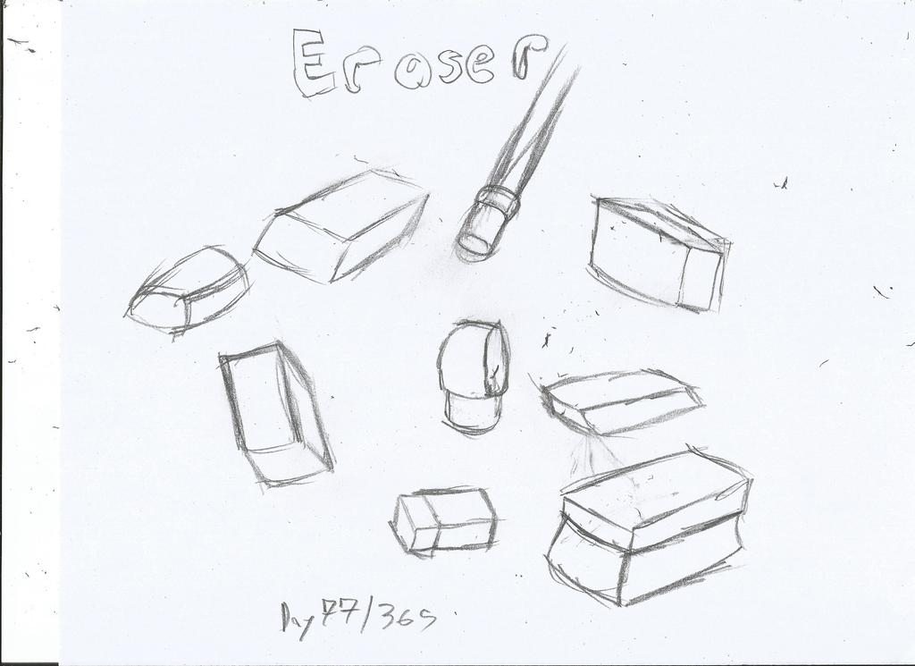 Eraser Drawing