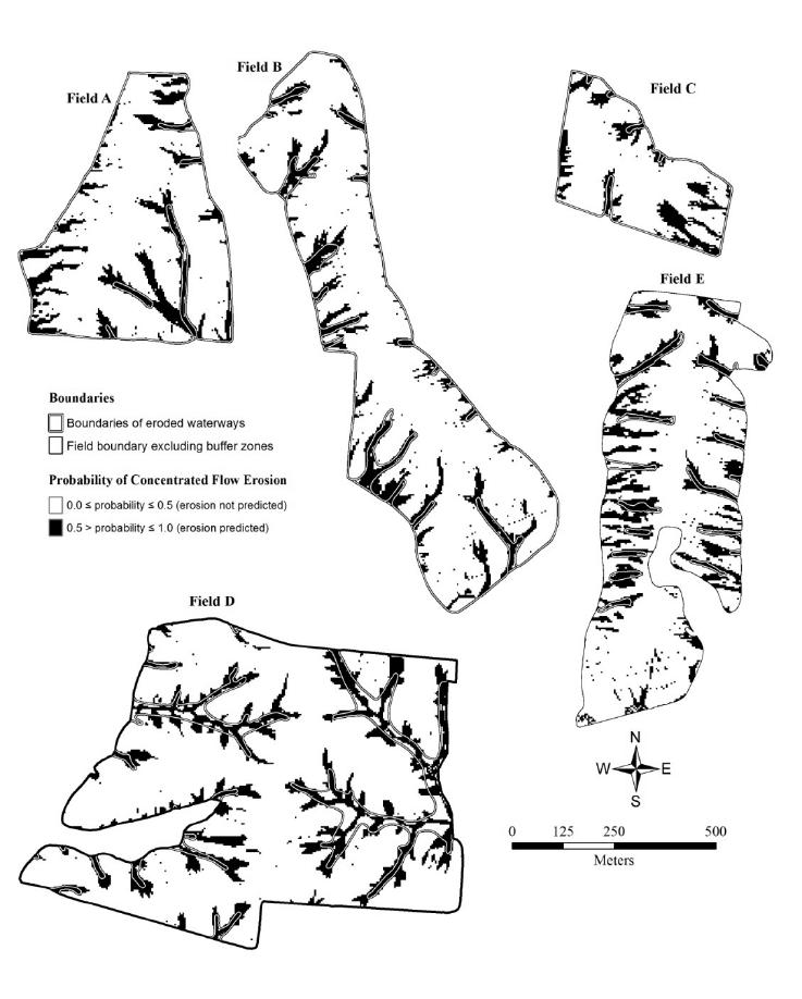 737x918 Discretized Erosion Probability Maps Derived From Lidar