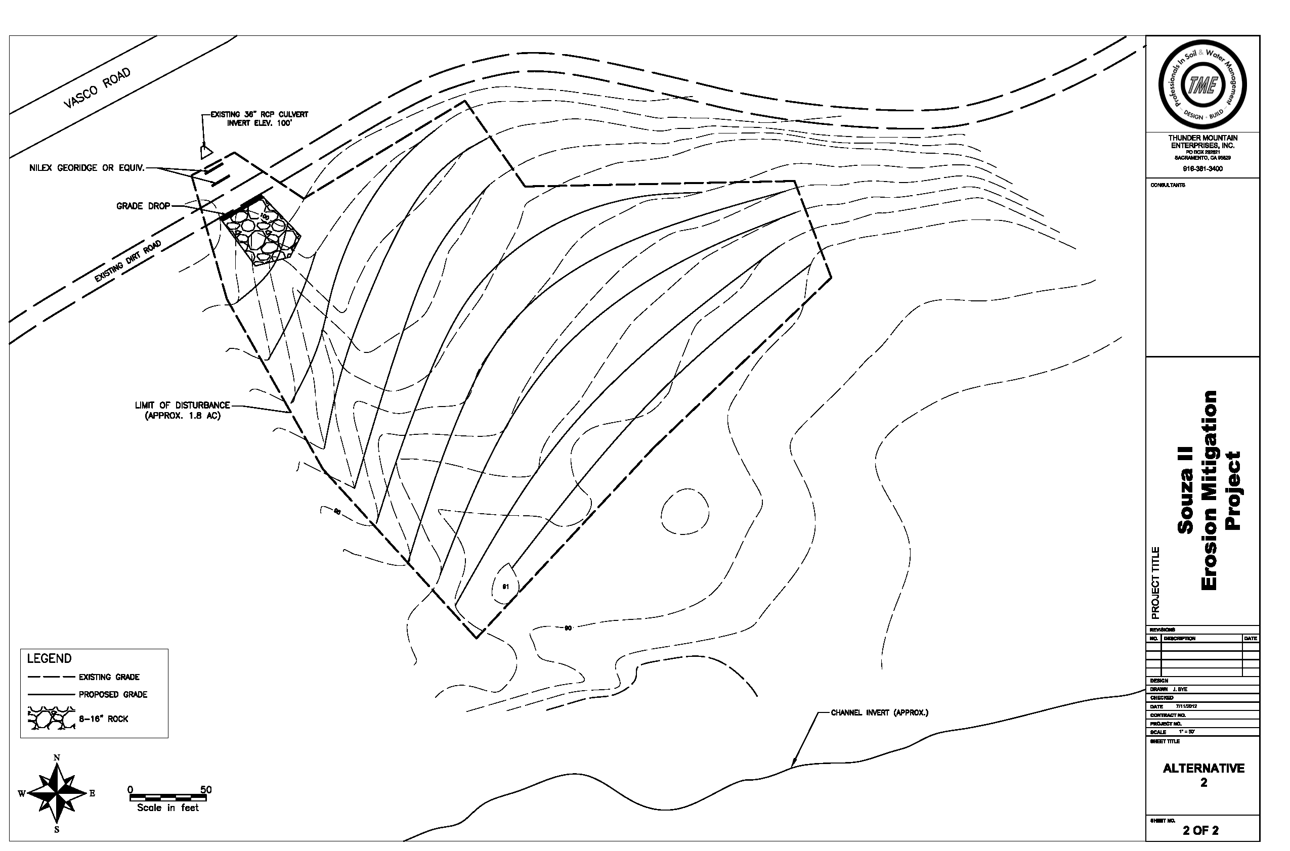 2550x1683 Souza Ii Erosion Mitigation Project Cad Drawing Jesse's Home