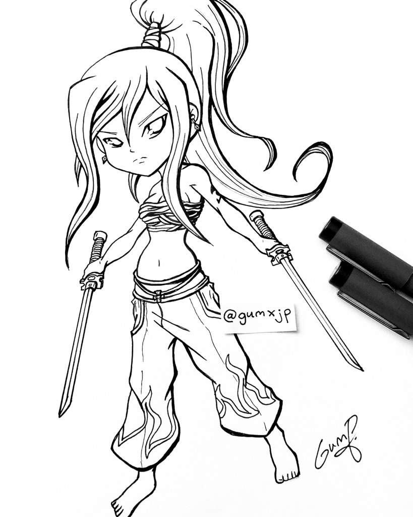 Erza Drawing