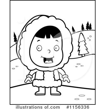 400x420 Eskimo Clipart