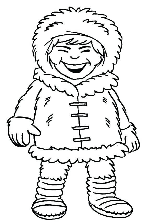 600x854 Introducing Eskimo Coloring Page Girl Laughing Out Loud Pages