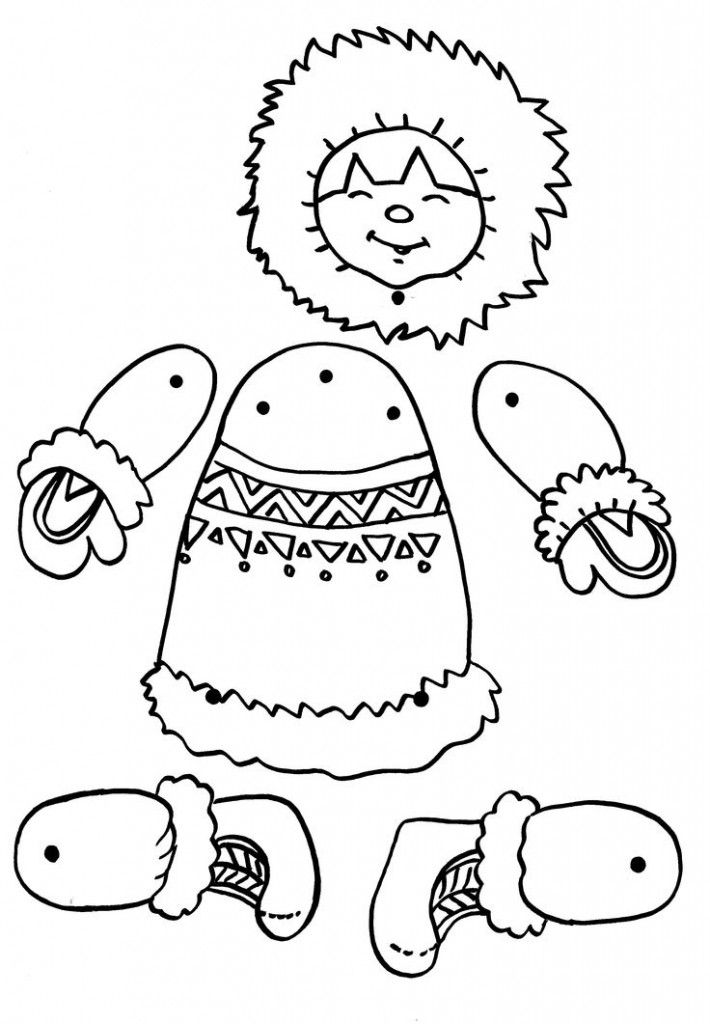 710x1024 Eskimo Puppet Craft Crafts And Worksheets For Preschool,toddler