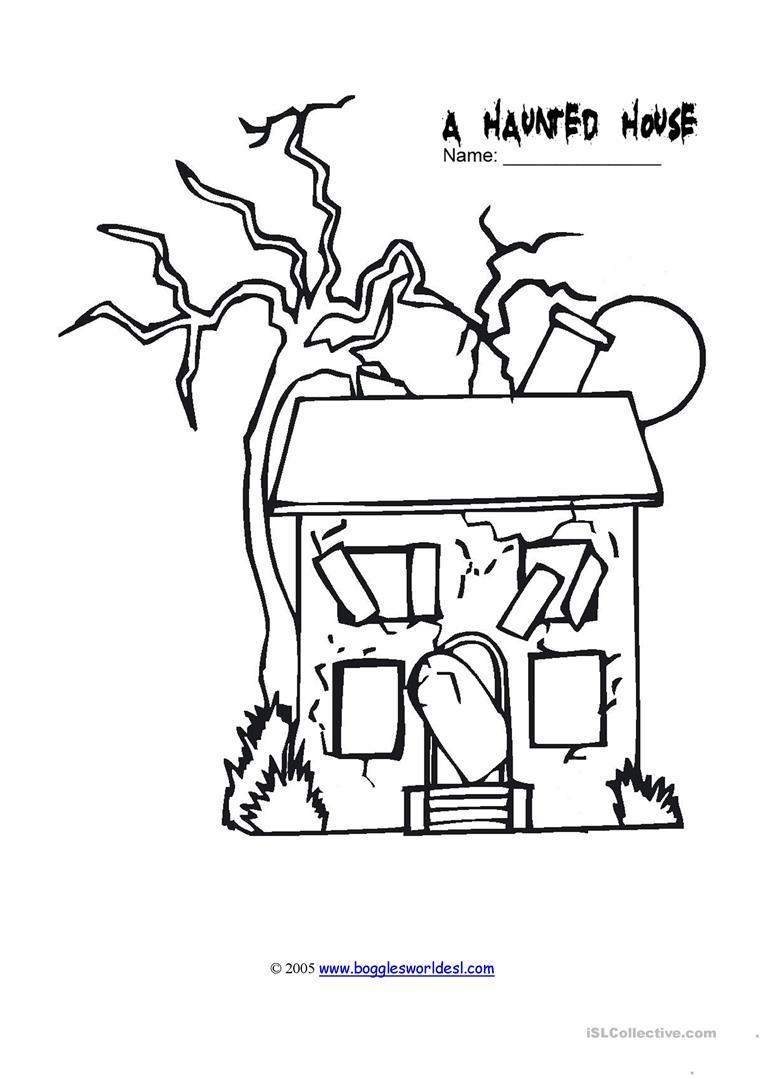 Kids House Drawing: Esl Drawing At GetDrawings