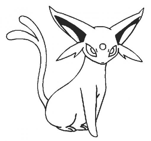 Espeon Drawing