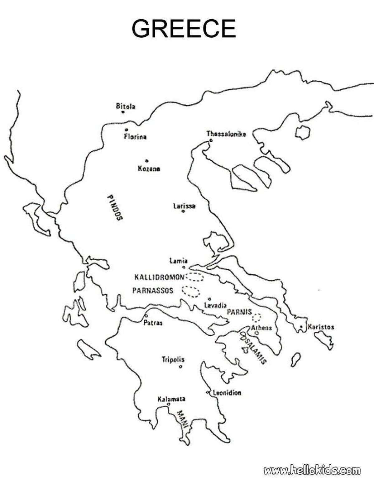 1200x1551 Greece Map Drawing