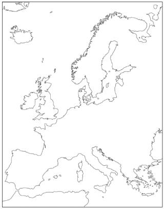 320x407 Europe Outline Maps, Fab Idea For Colouring And Understanding