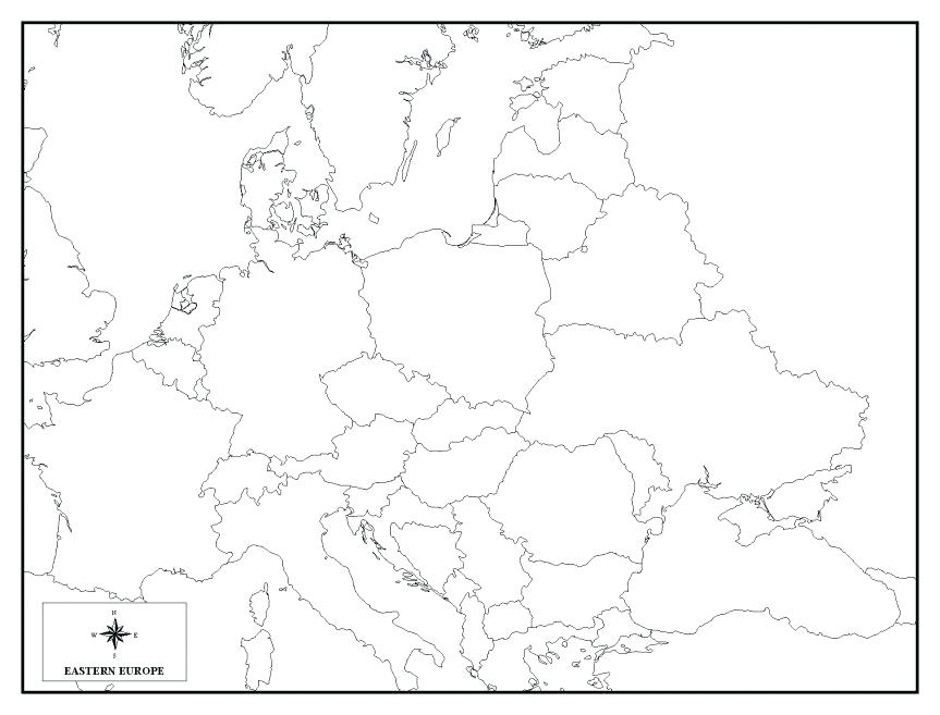 863x657 Western Europe Map Quiz Plus Coloring Pages Degree In Geography