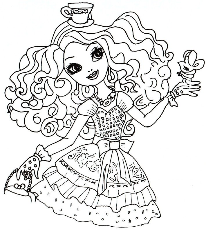 Ever After High Drawing