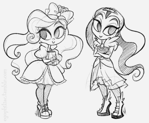 500x412 Not A Clever Title Ever After High And Monster High
