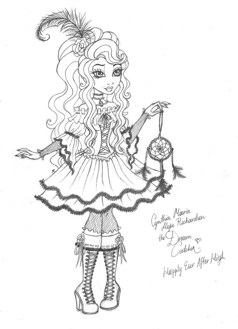 760x1051 Cynthia Happily Ever After High By Cindy Brilliant On DeviantArt