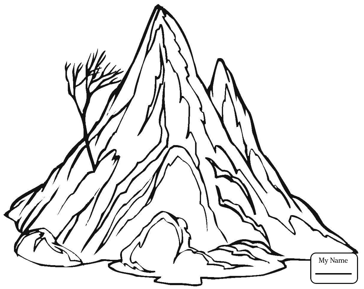 1224x970 Coloring Pages For Kids Mount Everest Nature Seasons