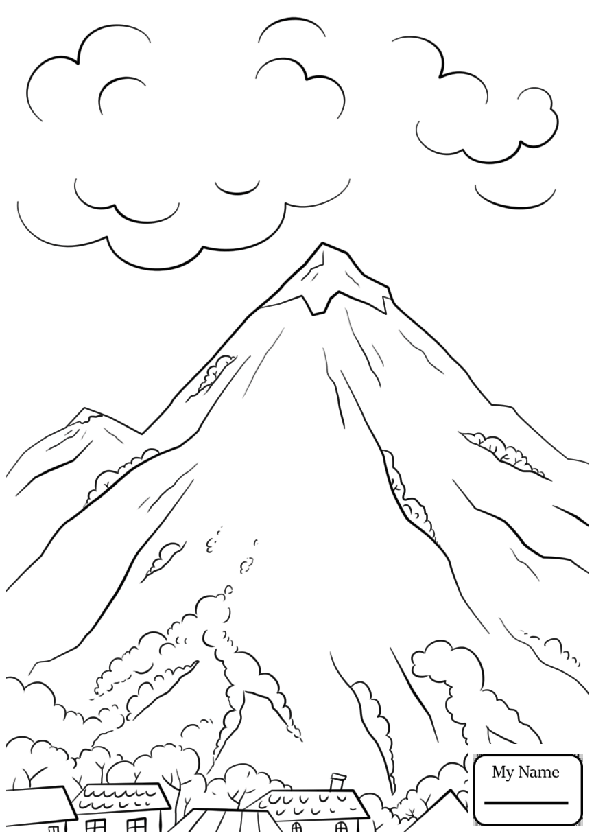 866x1224 Mount Everest Nature Seasons Coloring Pages For Kids