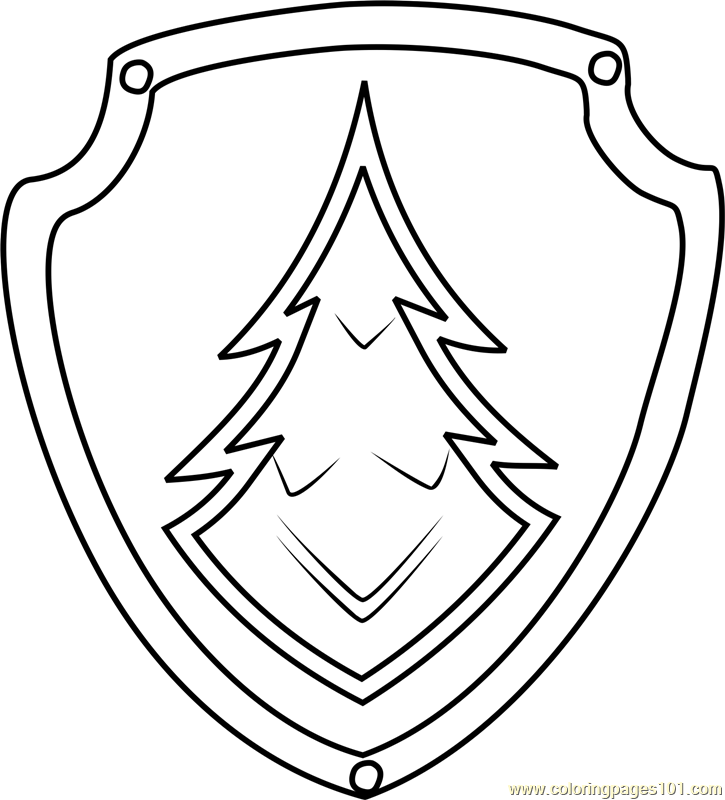 725x800 Everest Badge Coloring Page