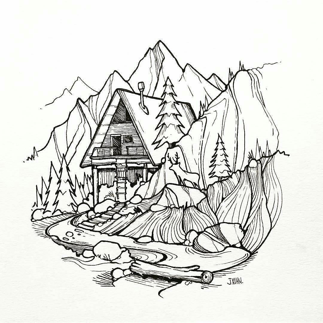 1080x1080 Jared Kohn (@mountain Lines) Brings Us A Cool
