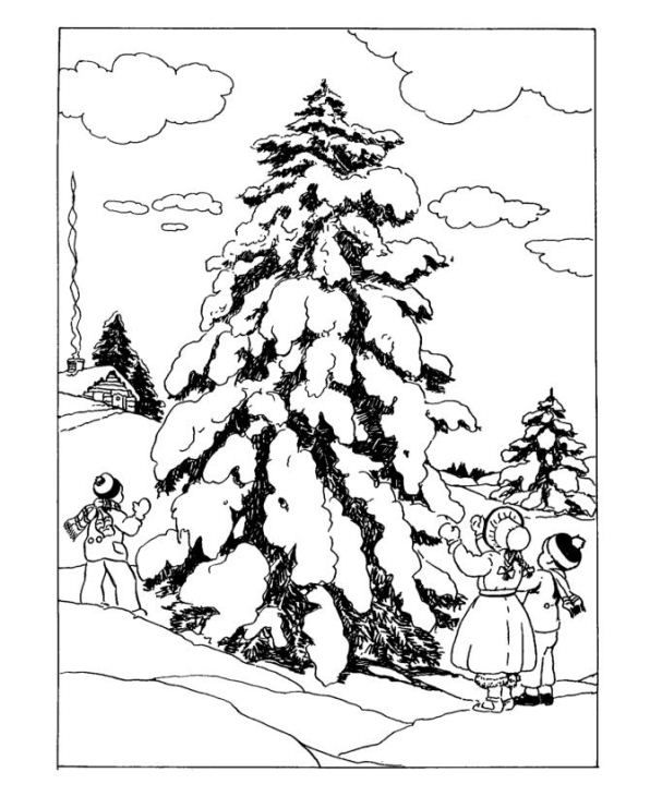 596x730 94 Best Winter Drawings Images On Coloring Books