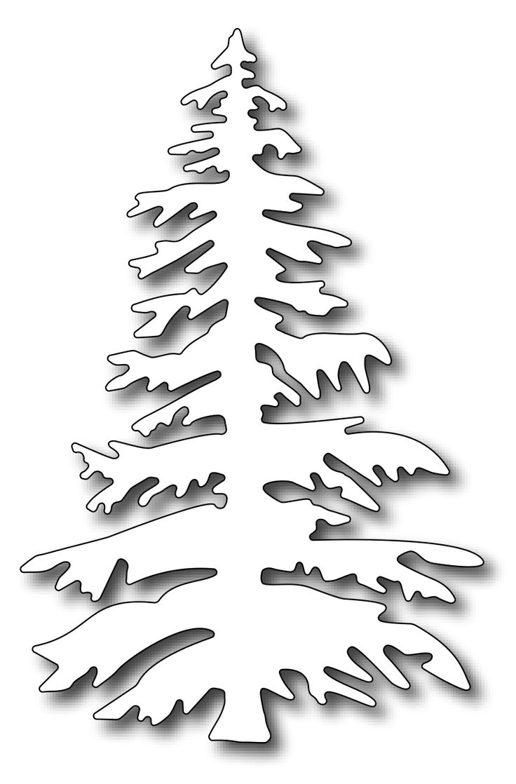 736x1118 Pine Tree Christmas Drawings Festival Collections