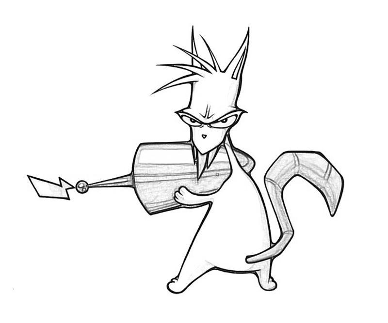 800x667 Evil The Cat Weapon Star Sasa