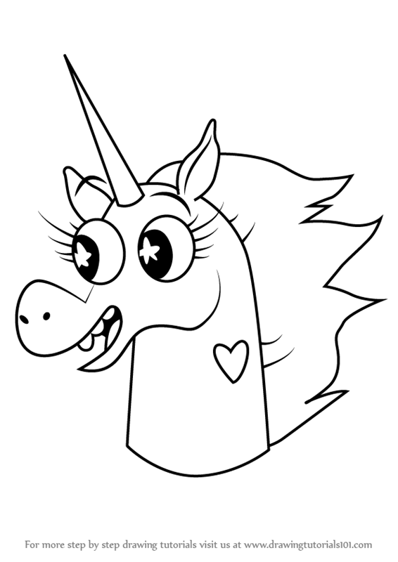 566x800 Learn How To Draw Pony Head From Star Vs. The Forces Of Evil (Star