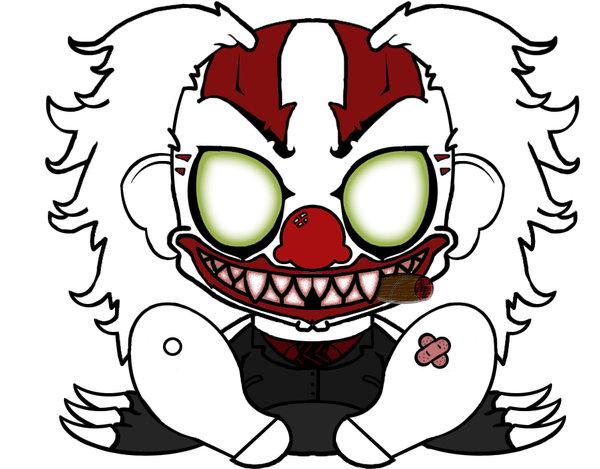600x469 Evil Clown Drawings