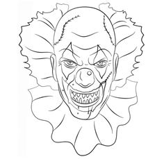 236x229 Drama Clown Faces Coloring Pages Circus Clown Faces