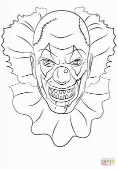 236x339 Evil Clown Custom Postage And Evil Clown Zazzle Custom Stamps