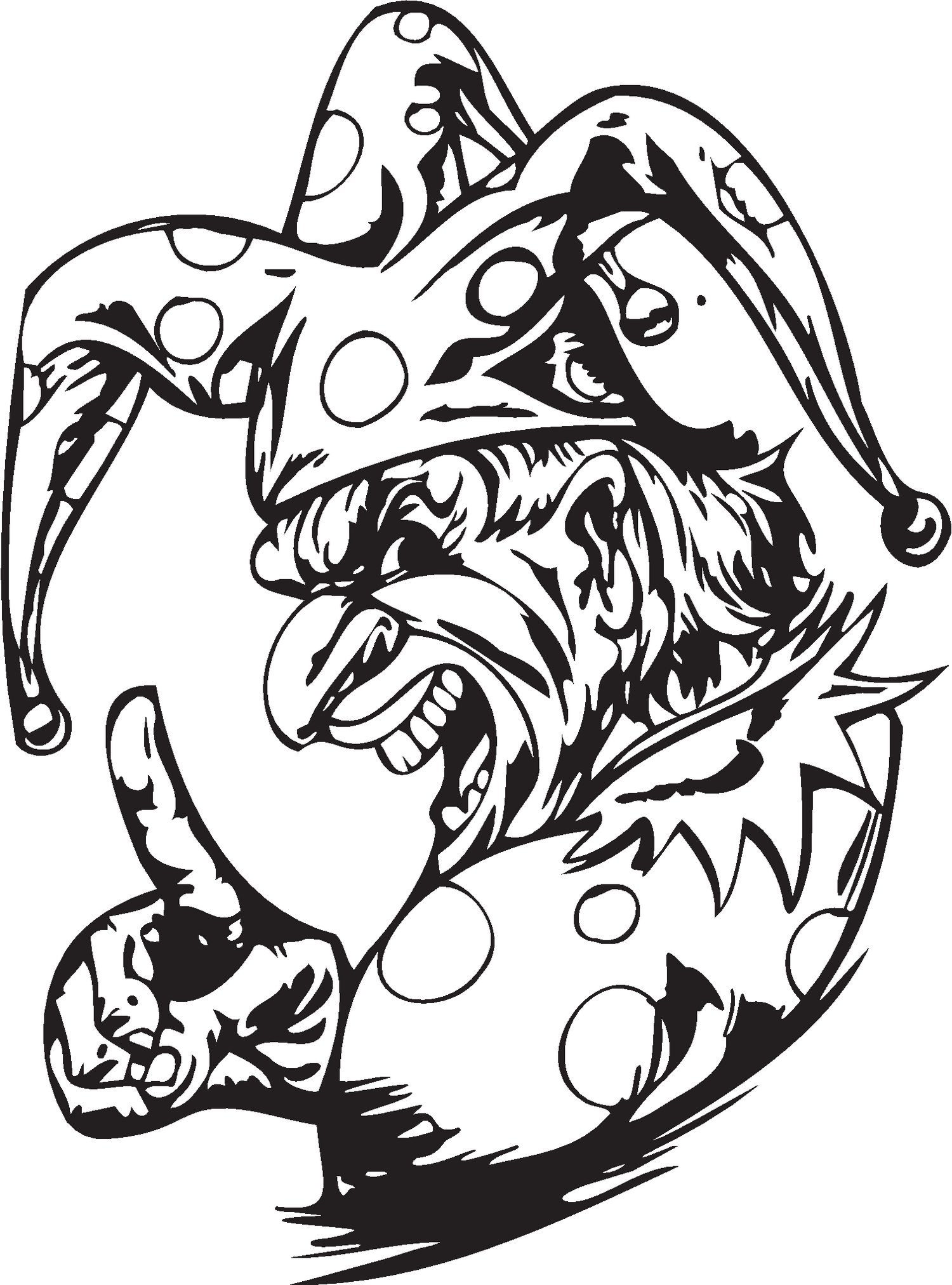 1500x2024 Devil Coloring Pages For Adults Page Image Clipart Images