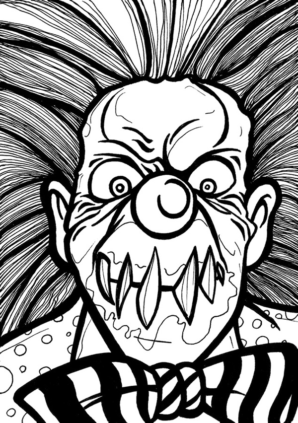 600x852 Drawnwest Clowns