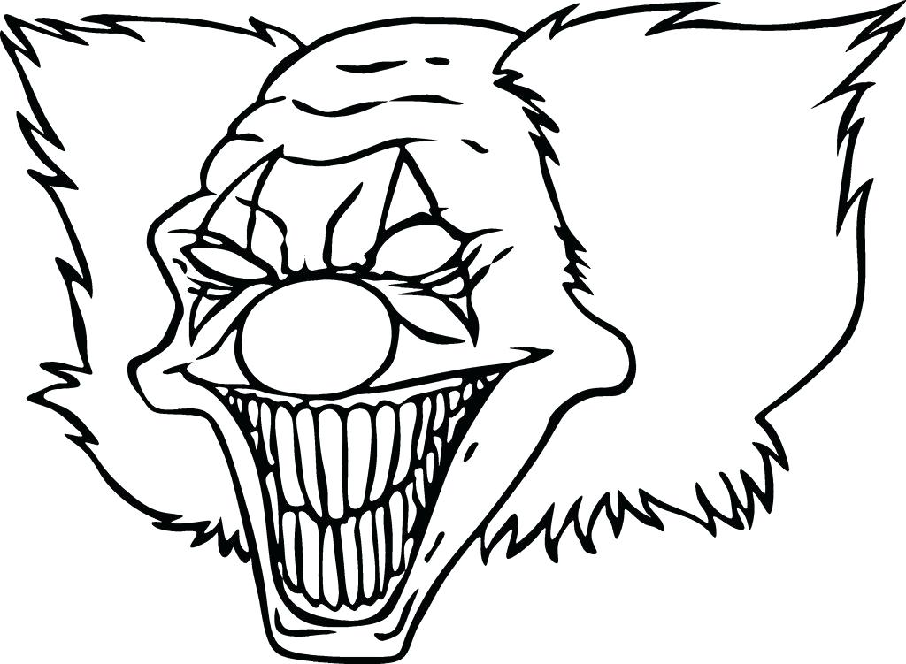 1024x751 Clowns Coloring Pages Awesome Printable Clown Coloring Pages Free