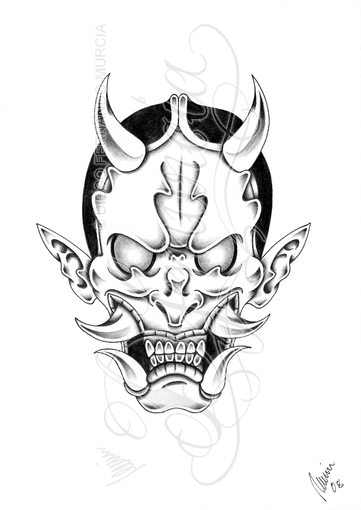 708x1000 Evil Hannya Shadow By Dfmurcia