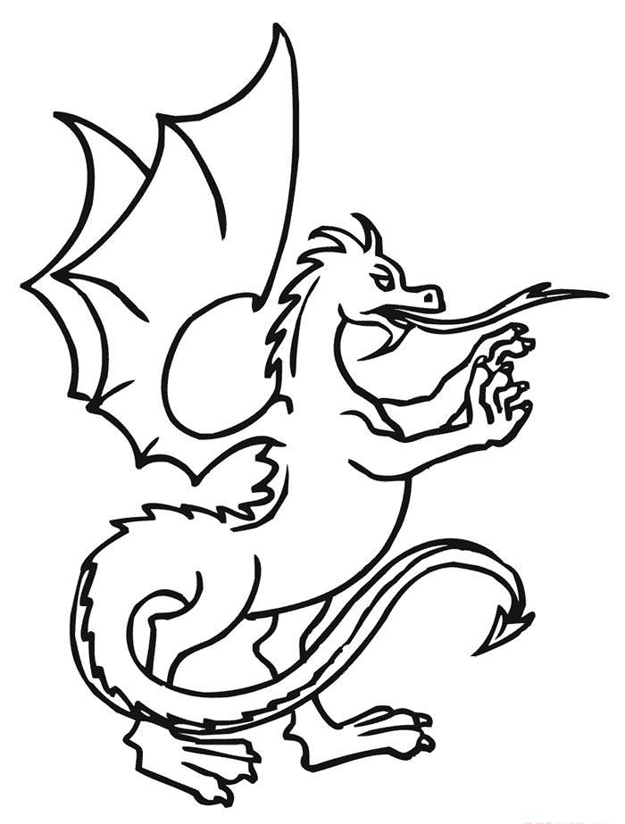 evil dragon drawing at getdrawings  free download