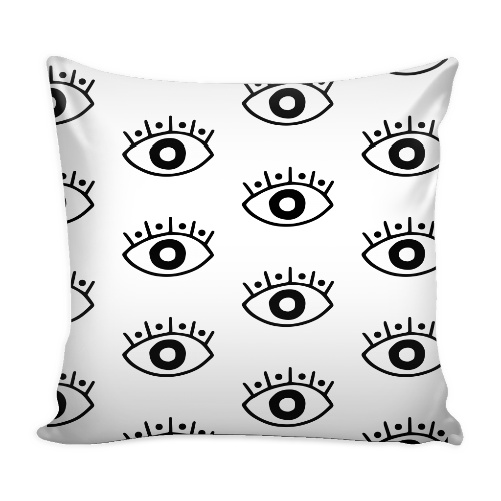 1024x1024 Evil Eye Pillow Cover 16 X 16 Crescent Amp Clair