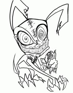 236x300 Scary Clown Coloring Page Colowing Scary Clowns