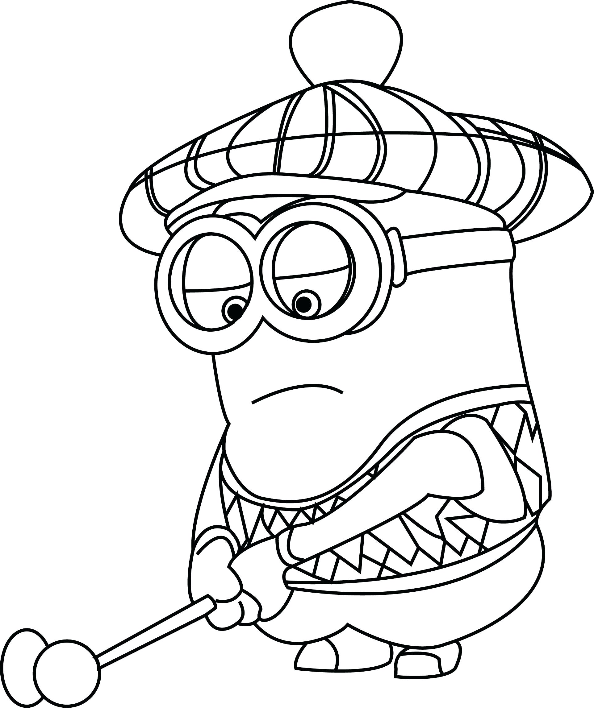 Evil Minion Drawing at GetDrawings | Free download