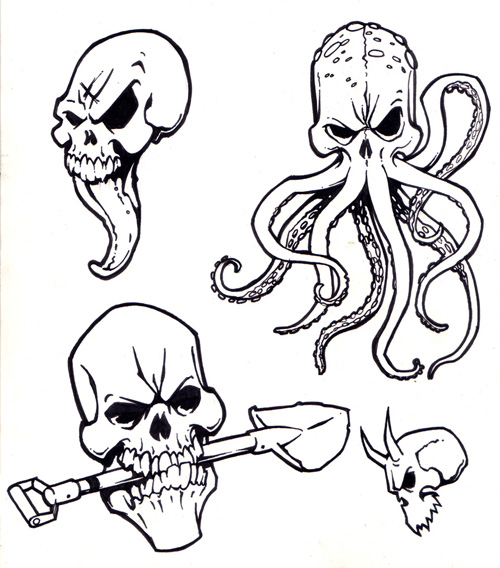 500x568 Image Result For Octopus Sketch Octopus Octopus