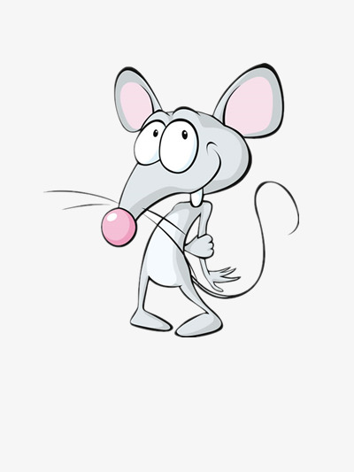 400x533 Cartoon Cute Mouse Pictures, Mouse, The Evil Eye, Pose Png Image