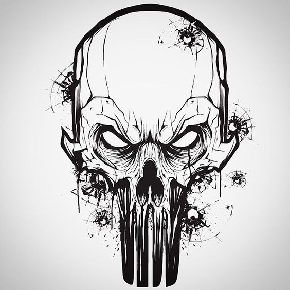 564x564 Evil Skull Drawings Tattoo Art Skull Drawings