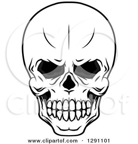 Evil Skulls Drawing