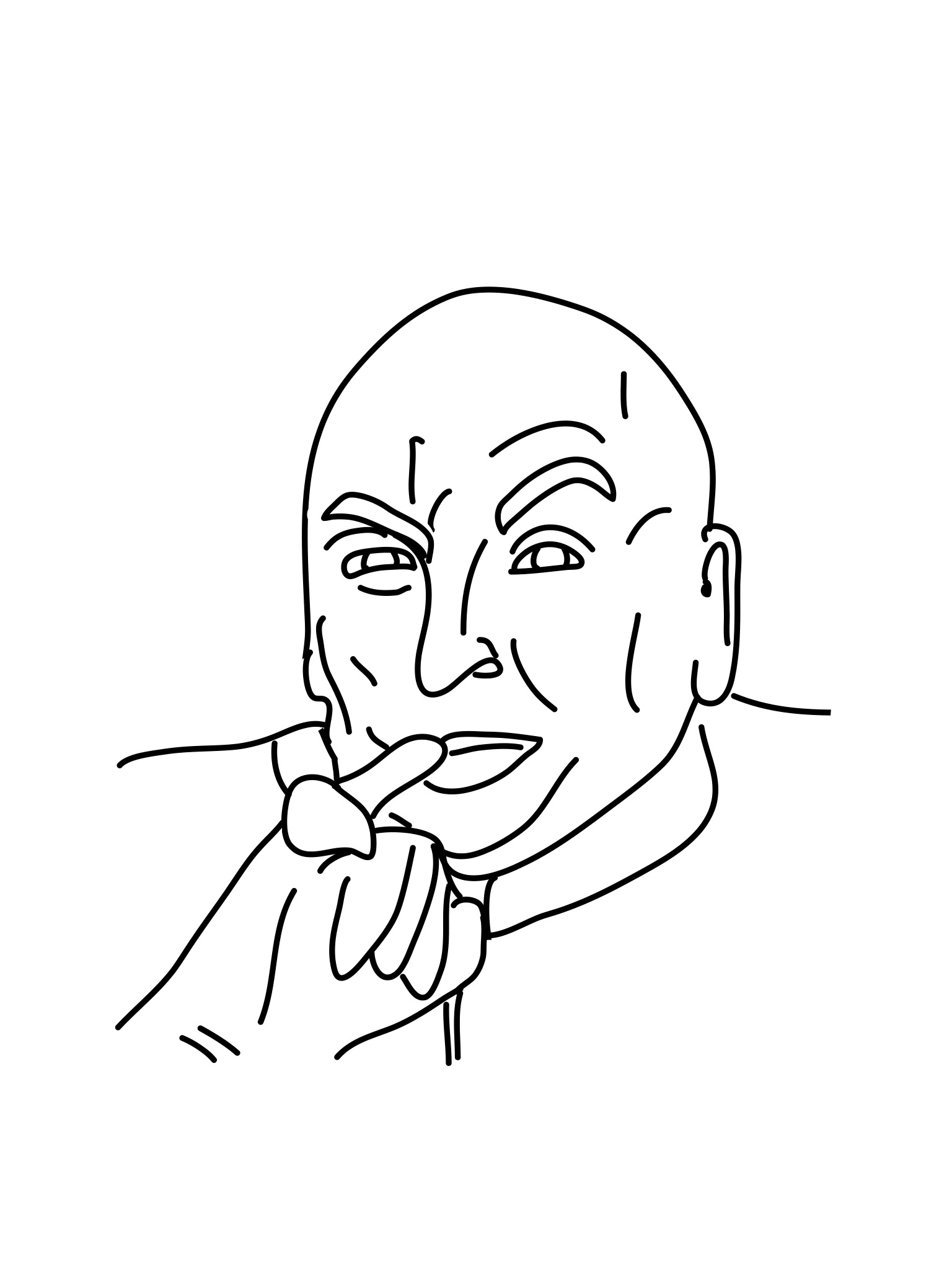 1536x2048 Austin Powers Dr. Evil Drawings Austin Powers