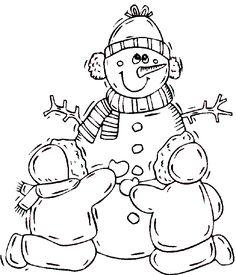 236x275 Snowman Digital