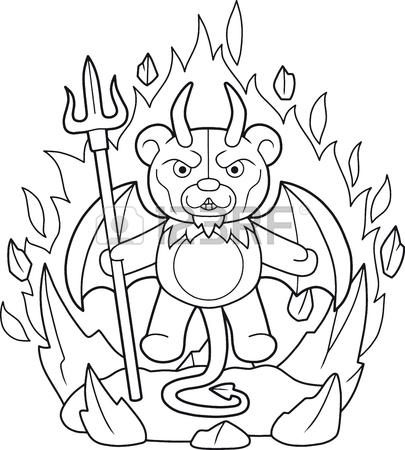Evil Teddy Bear Drawing