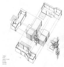220x229 Sun Orrery Building Exploded Axonometric Architecture Sectional