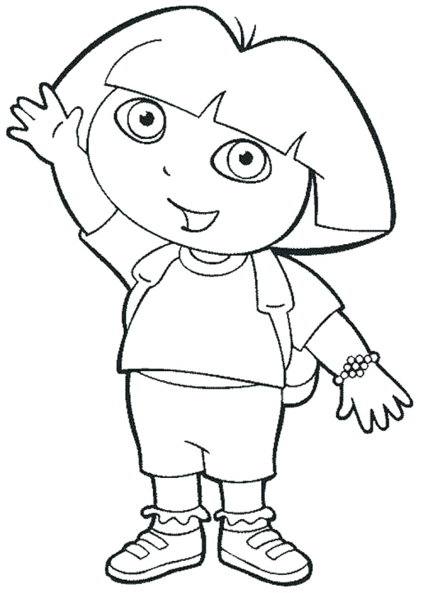 856x1200 Coloring Dora Printable Coloring Pages Sensational Inspiration