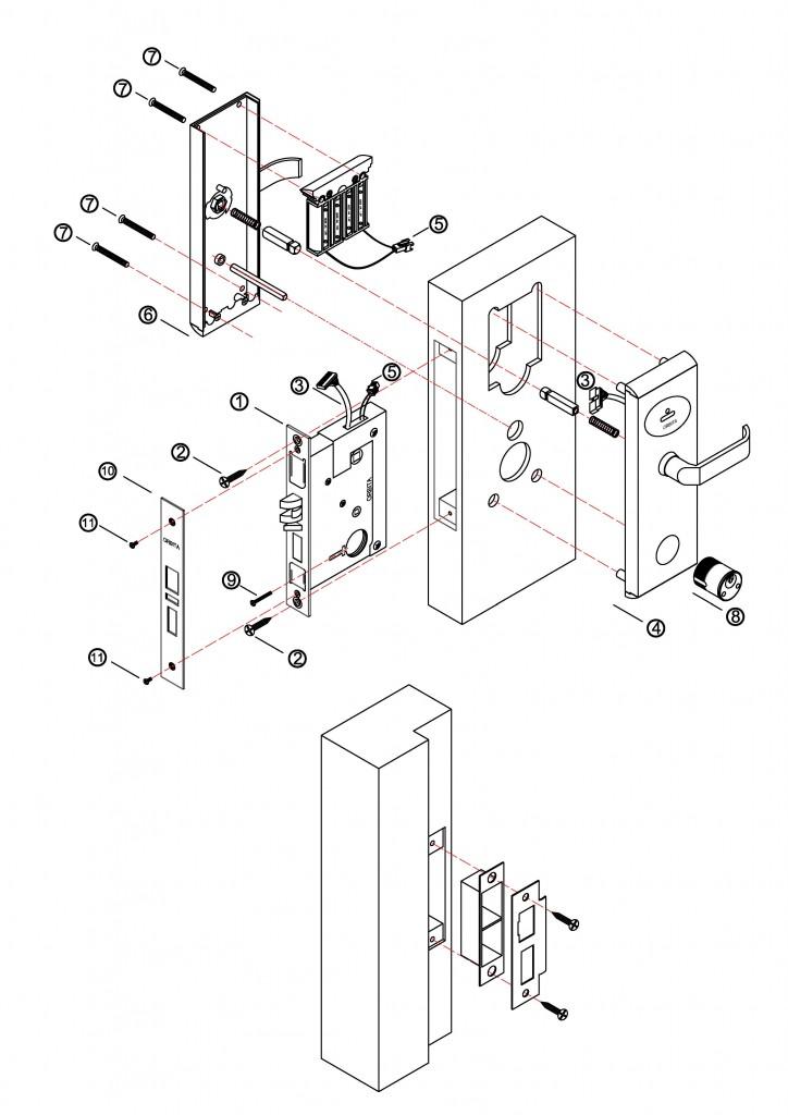 724x1024 Locks, Cylinders, Mortises Kerberos