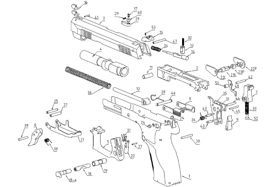 1100x744 Exploded View Drawings